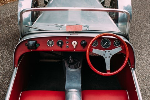 Lotus Seven Series 1 interior