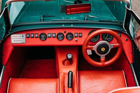 Lotus Seven Prisoner interior