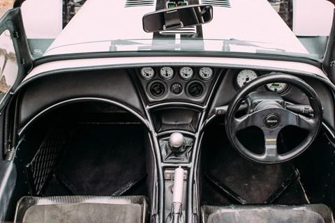 Caterham Seven CSR 260 interior