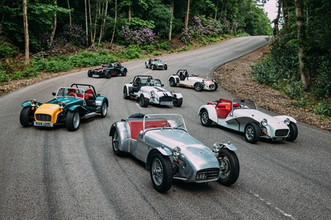 Caterham Seven history group