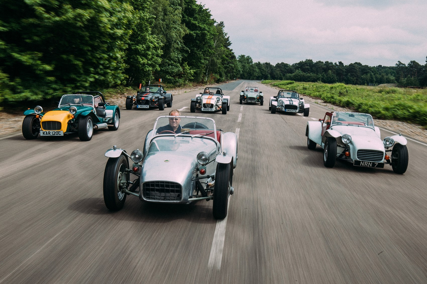 60 years of the Seven: Lotus and Caterham\'s kit car through the ages ...