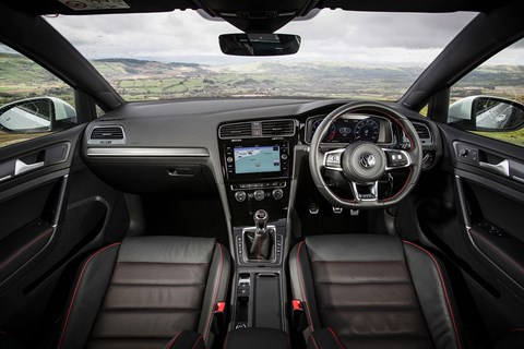 New 2017 VW Golf GTI interior
