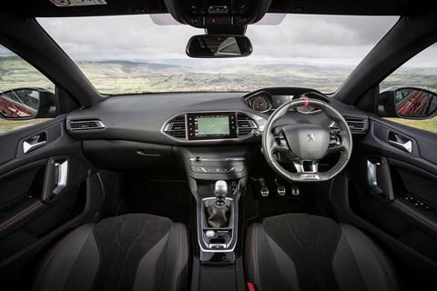 Peugeot 308 GTI interior