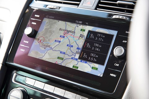 VW Golf GTI touchscreen: a very slick digital experience