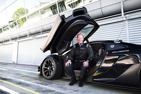 Mike Flewitt, McLaren Automotive CEO