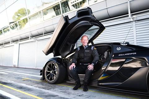 Mike Flewitt, McLaren Automotive CEO