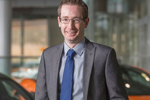 Paul Buddin, finance chief, McLaren Automotive