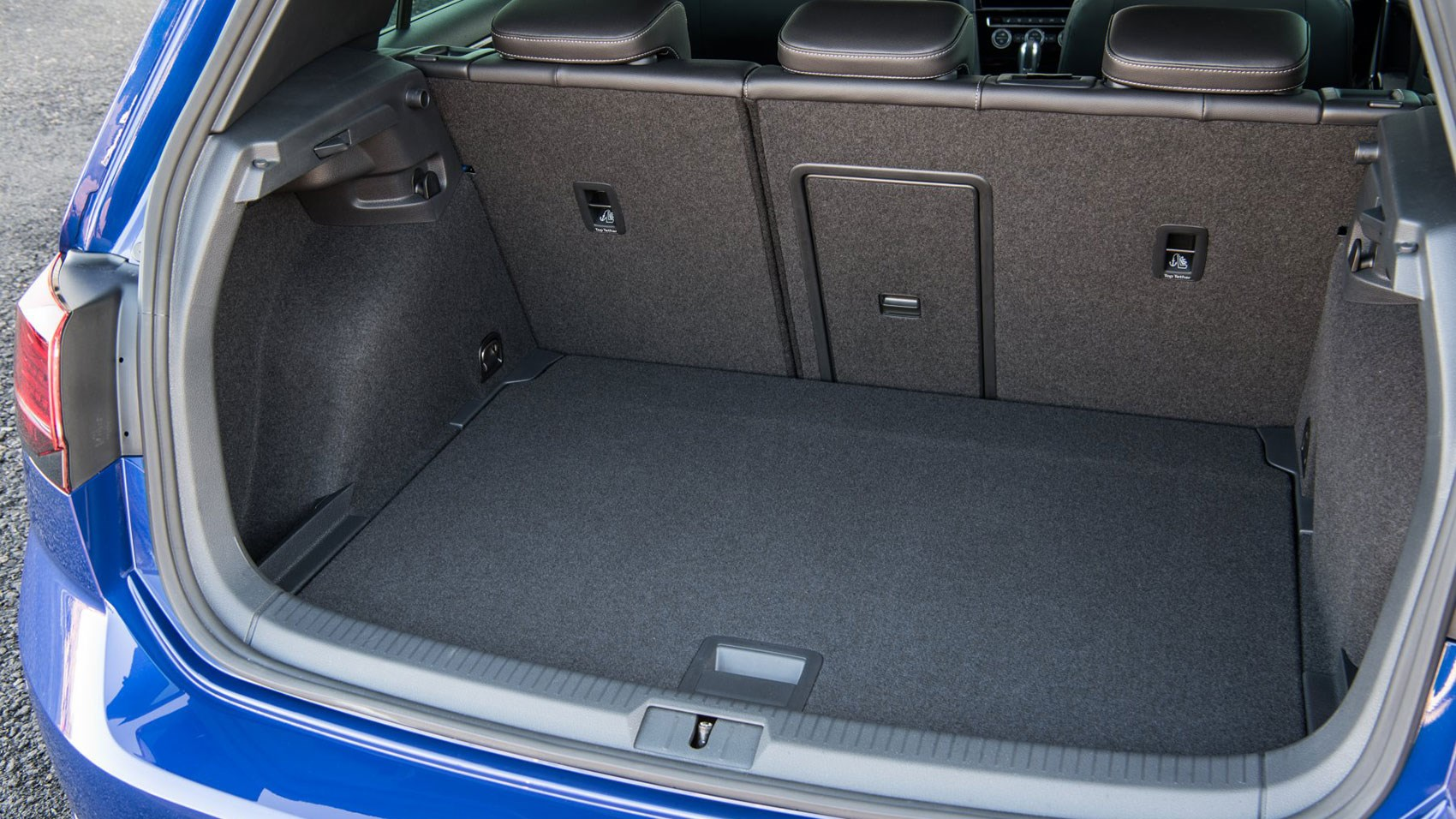 VW Golf R boot space and practicality