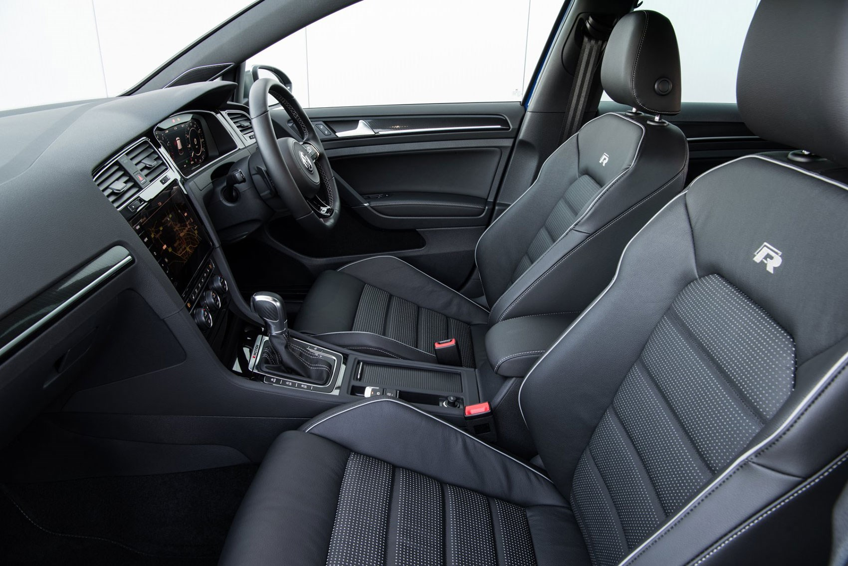 VW Golf R interior: pure class