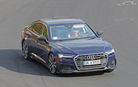 The new 2019 Audi S6 scooped