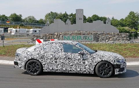 Yeni 2018 Audi S6 kepçe
