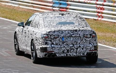 Nurburgring'de konuşlandırıldı: Yeni 2018 Audi A6.