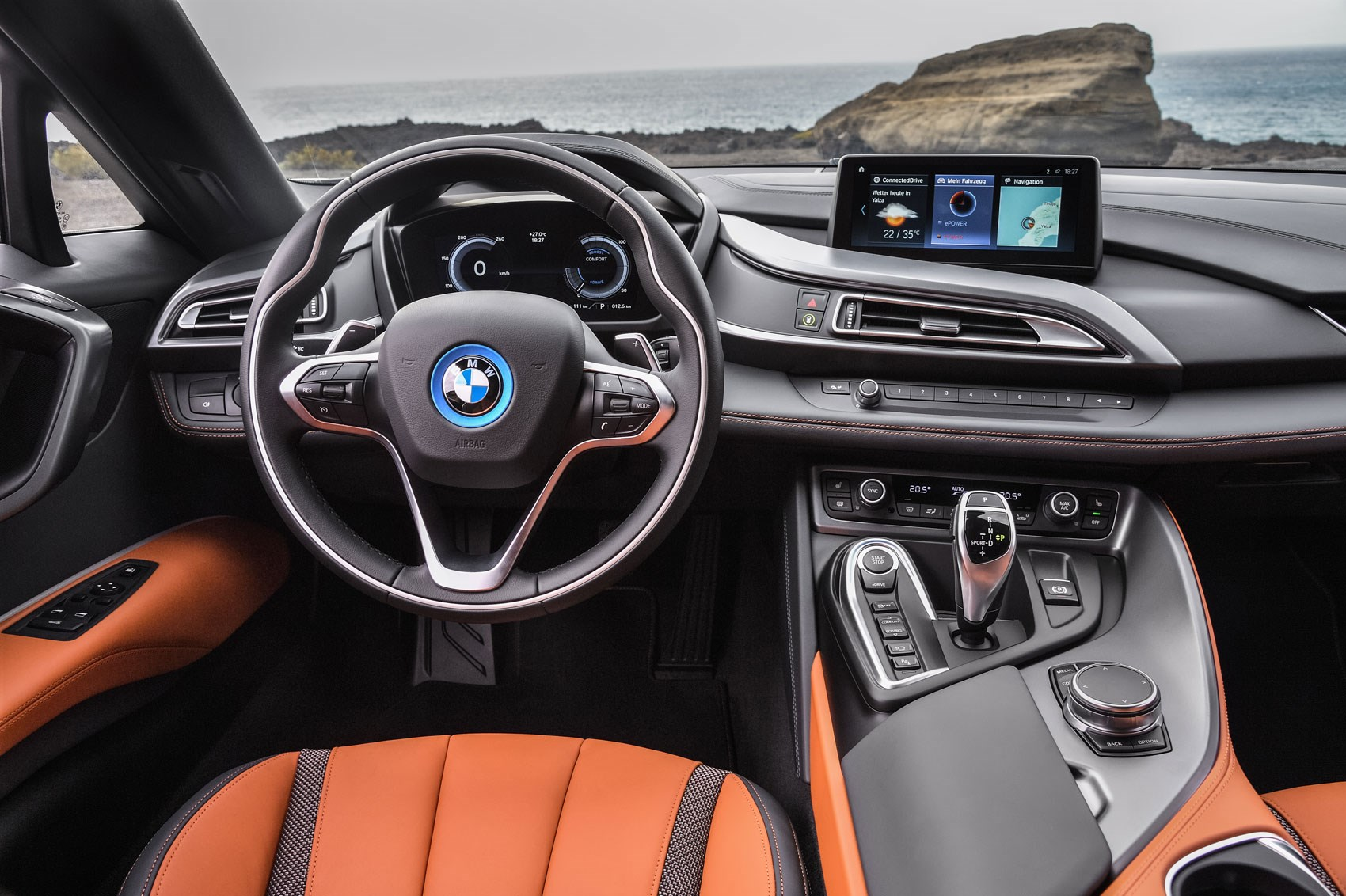 Soft Top Super Hybrid 2018 Bmw I8 Roadster Revealed Car Magazine