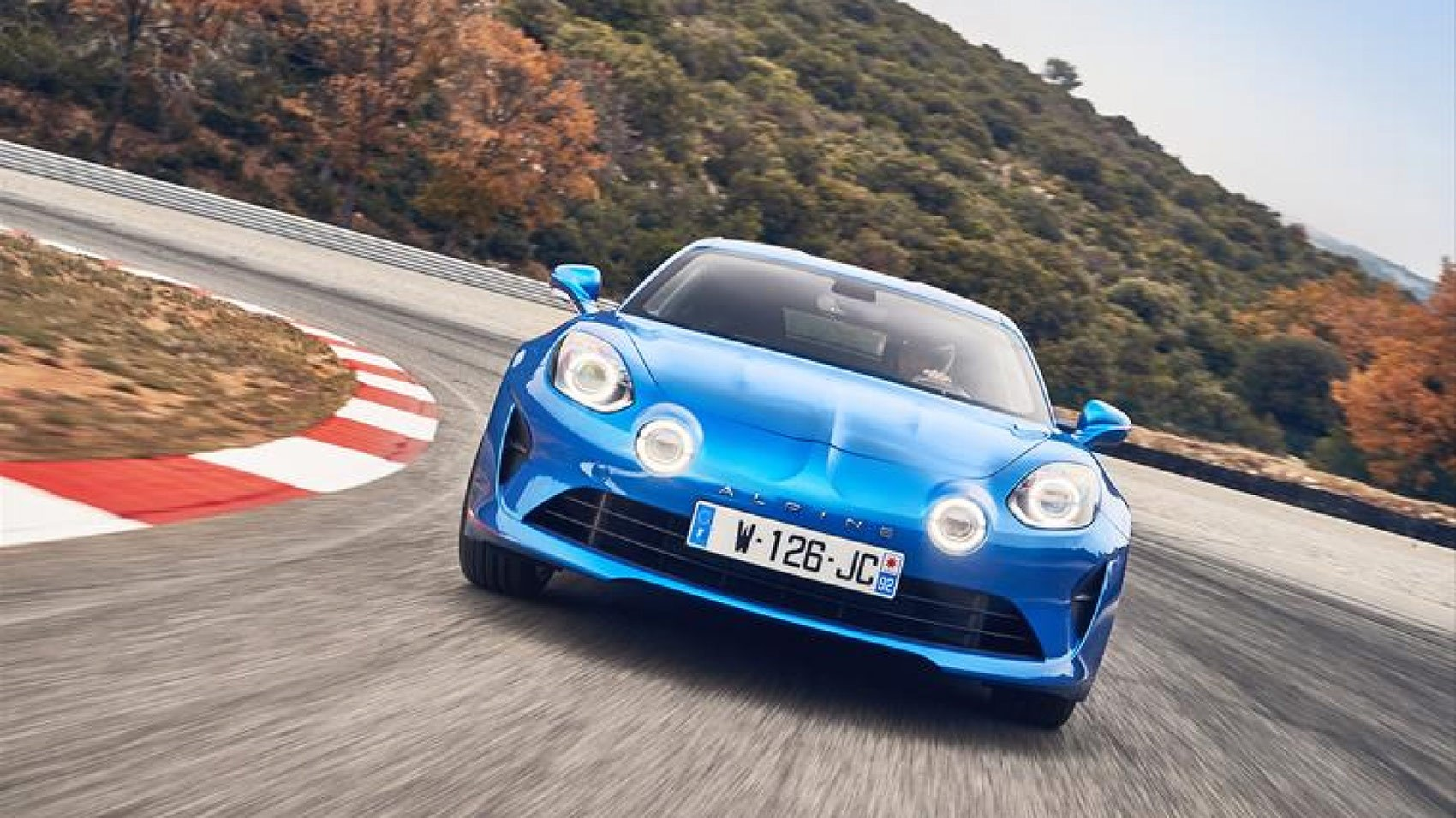 Alpine A110 track