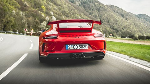 The new 2017 Porsche 911 GT3, 991.2 generation