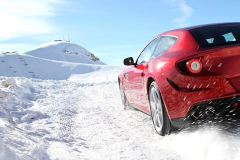 Ferrari FF: the first all-wheel drive Ferrari