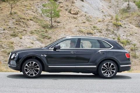 Bentley Bentayga hibrit