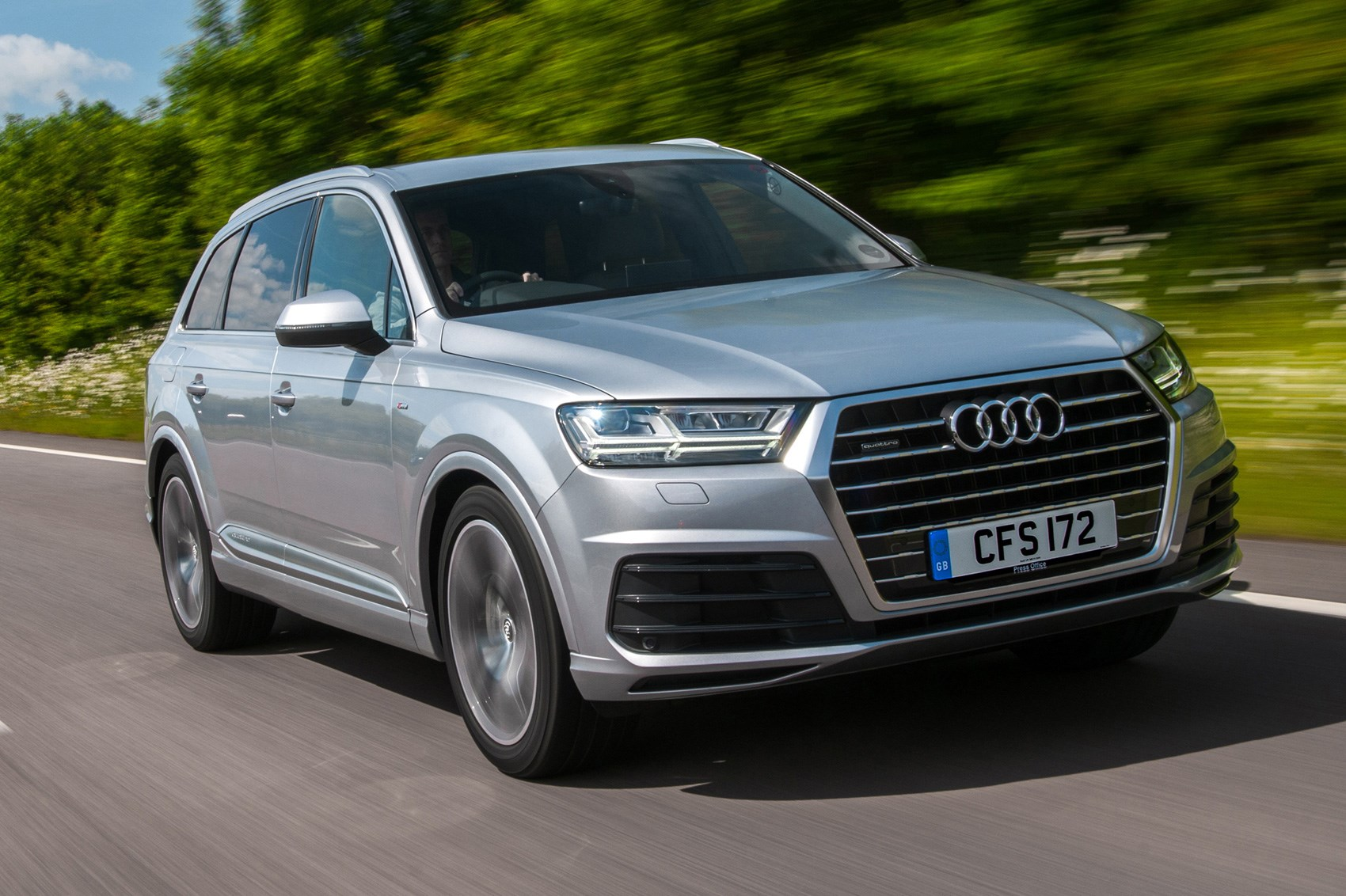 Audi Q7 3 0 Tdi Se 2017 Review