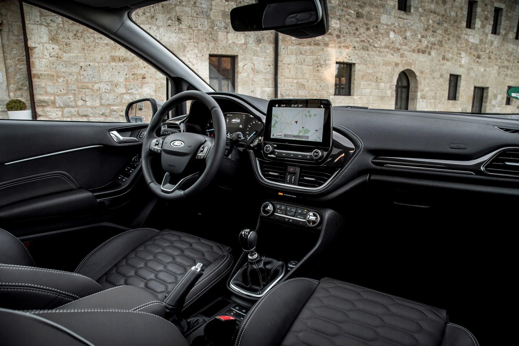 New 2017 Ford Fiesta Vignale interior