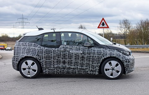 New 2018 BMW i3 in profile