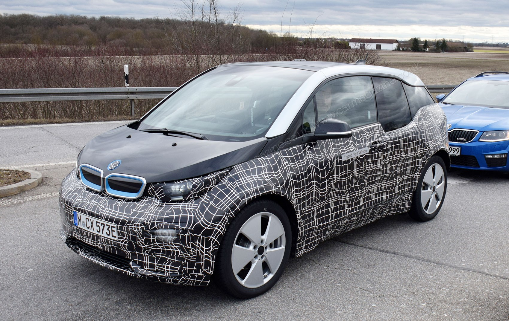 2018 bmw electric cars. contemporary bmw electric car front end facelift for 2018 bmw i3 new foglamps dominate  front intended bmw cars