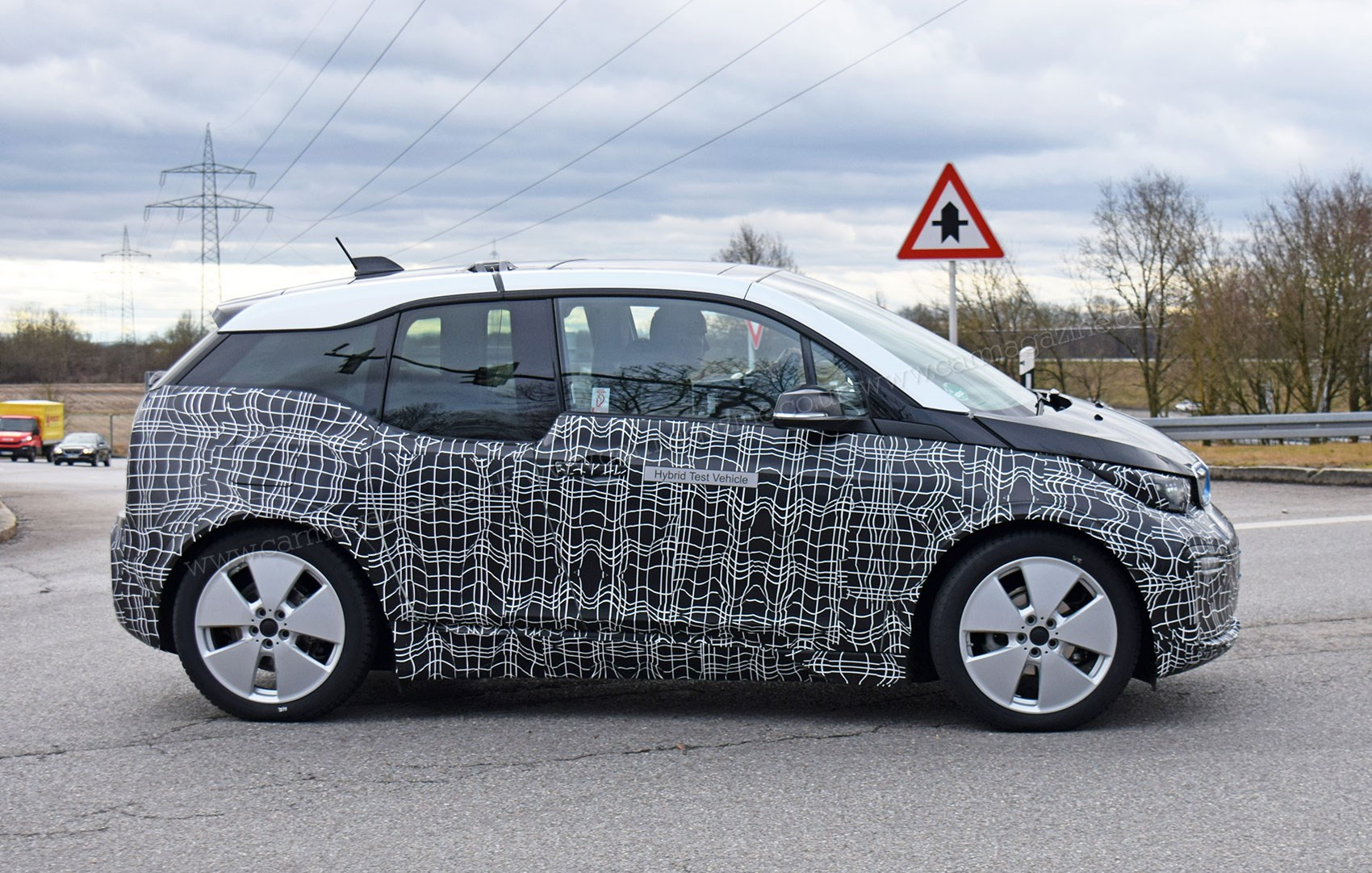 Bmw I3 2017 Facelift Spy Photos And Specs on tesla model 3 front view