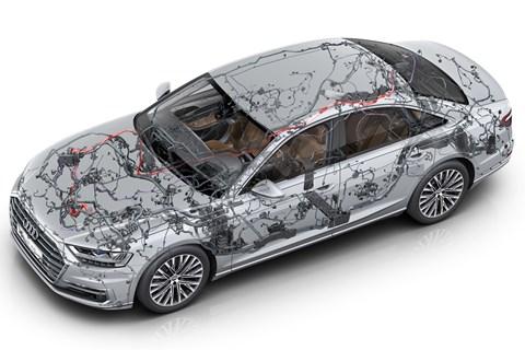 Audi A8 wiring diagram