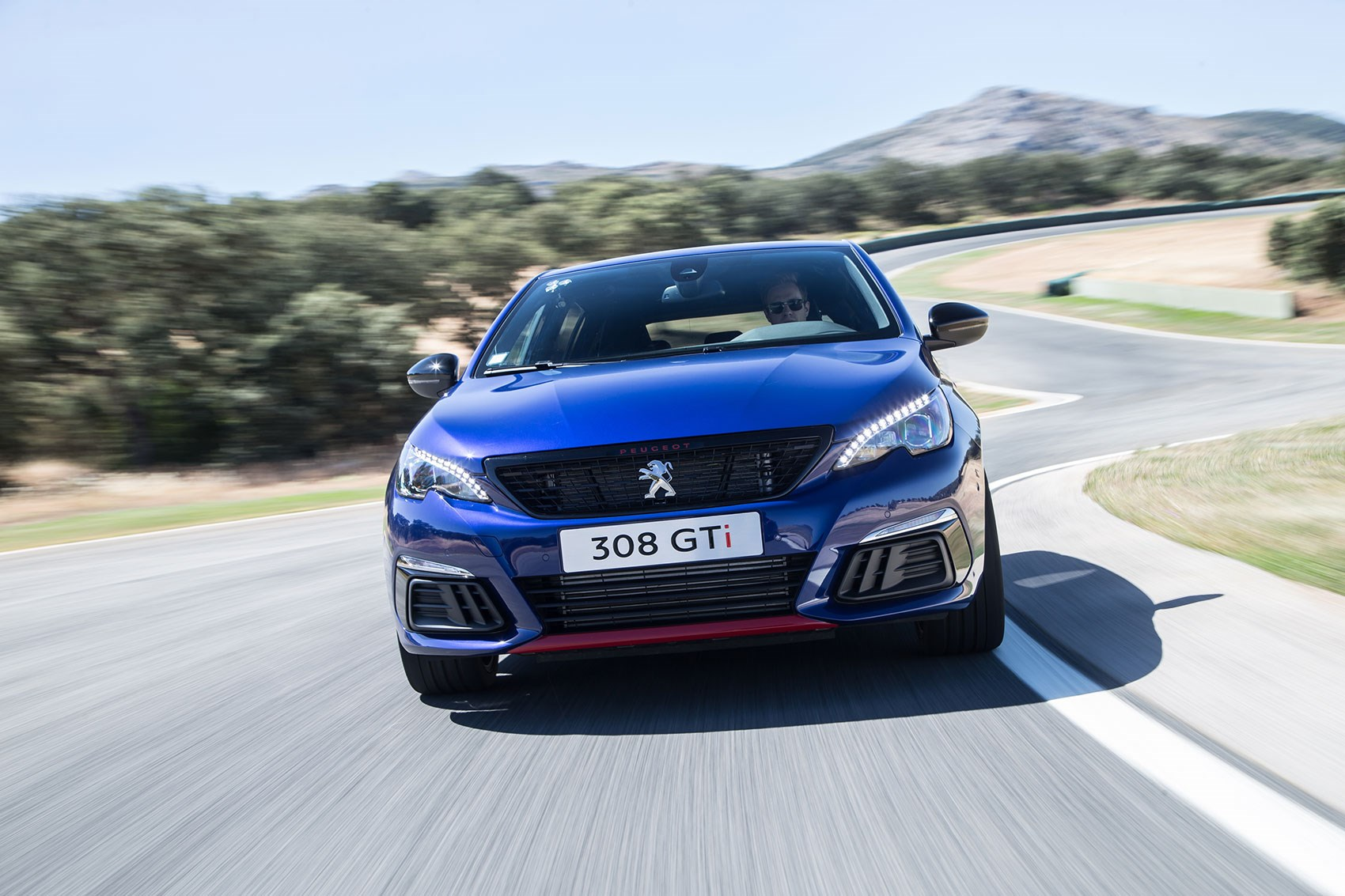 peugeot 308 gti facelift 2017 review by car magazine. Black Bedroom Furniture Sets. Home Design Ideas