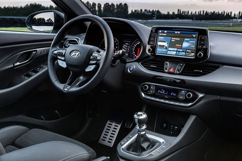 Hyundai i30 N interior and cabin