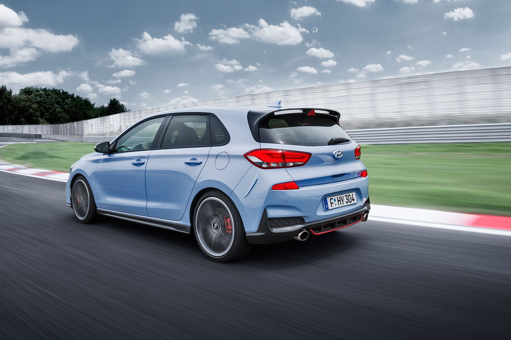 hyundai i30n and i30 fastback revealed in pictures by car magazine. Black Bedroom Furniture Sets. Home Design Ideas