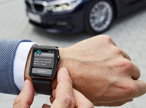 Apple Watch syncs with your car, tells you when to leave for a journey