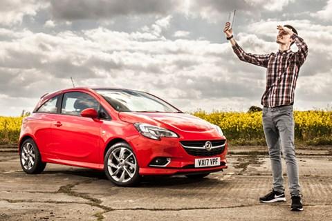 Vauxhall Corsa hotspot outside 2