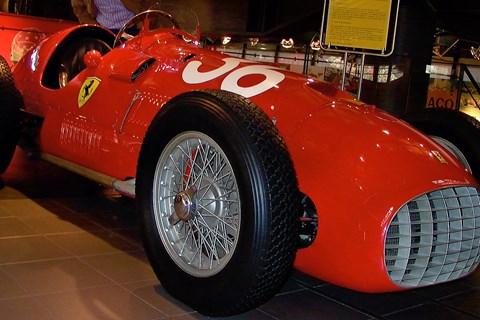 1951 Ferrari F1 car