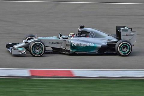 2014 Mercedes F1