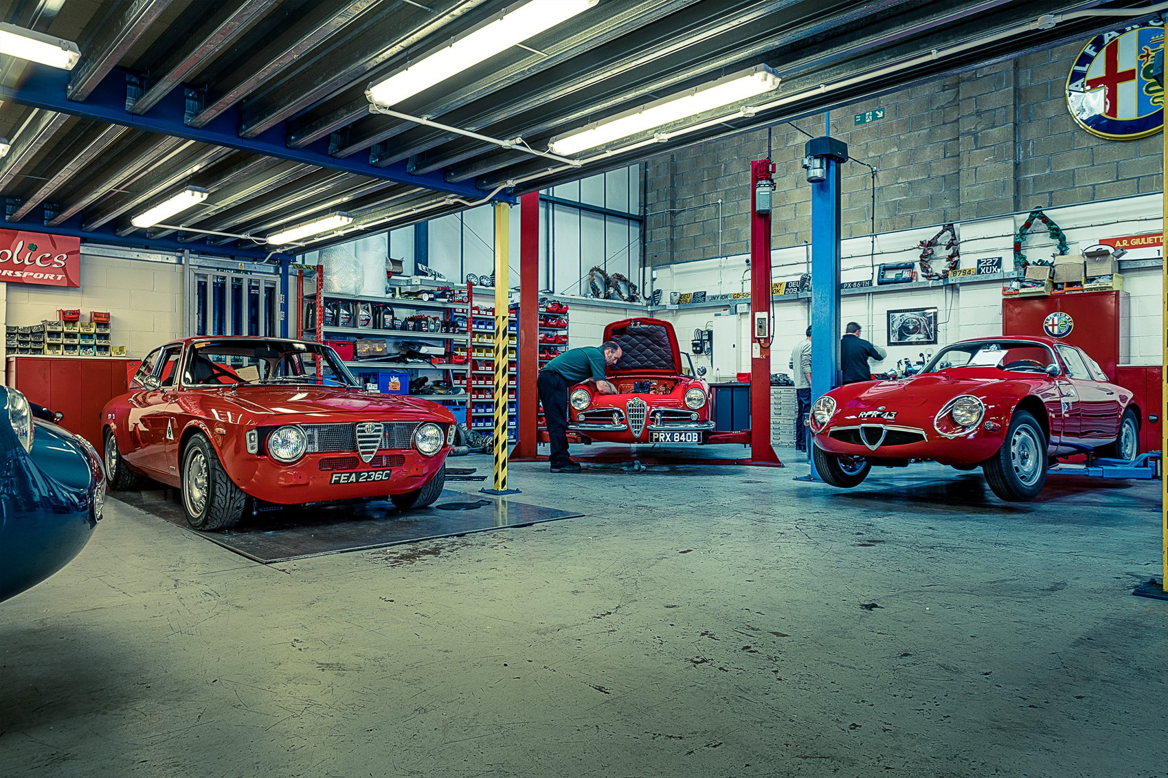 Classic Alfa Heaven Inside Alfaholics By Car Magazine
