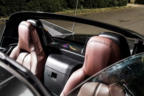 Mazda MX-5 RF seats