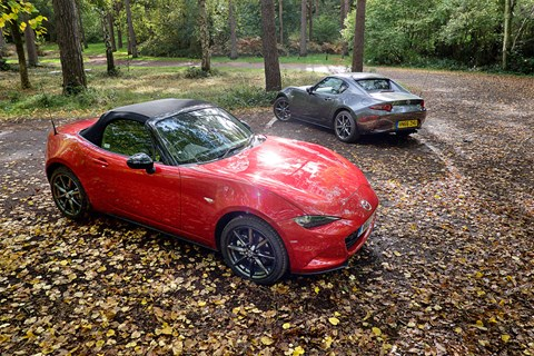 Mazda MX-5: RF hard-top or soft-top?