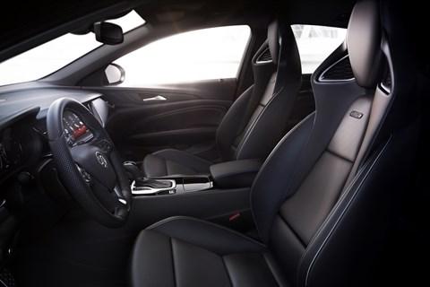 Vauxhall Insignia GSi interior