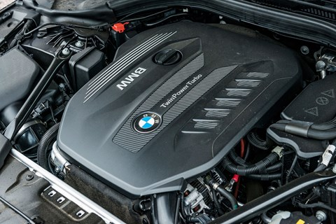 BMW 530d xDrive engine