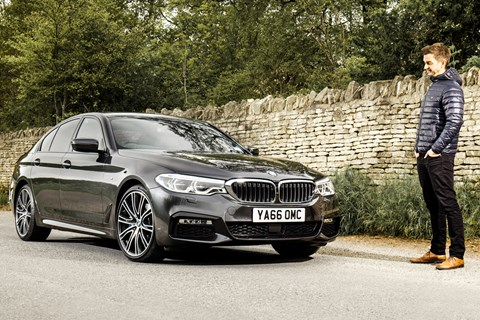 BMW 5-series CAR magazine long-termer