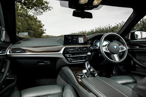 BMW 5-series long-term 530d xDrive interior
