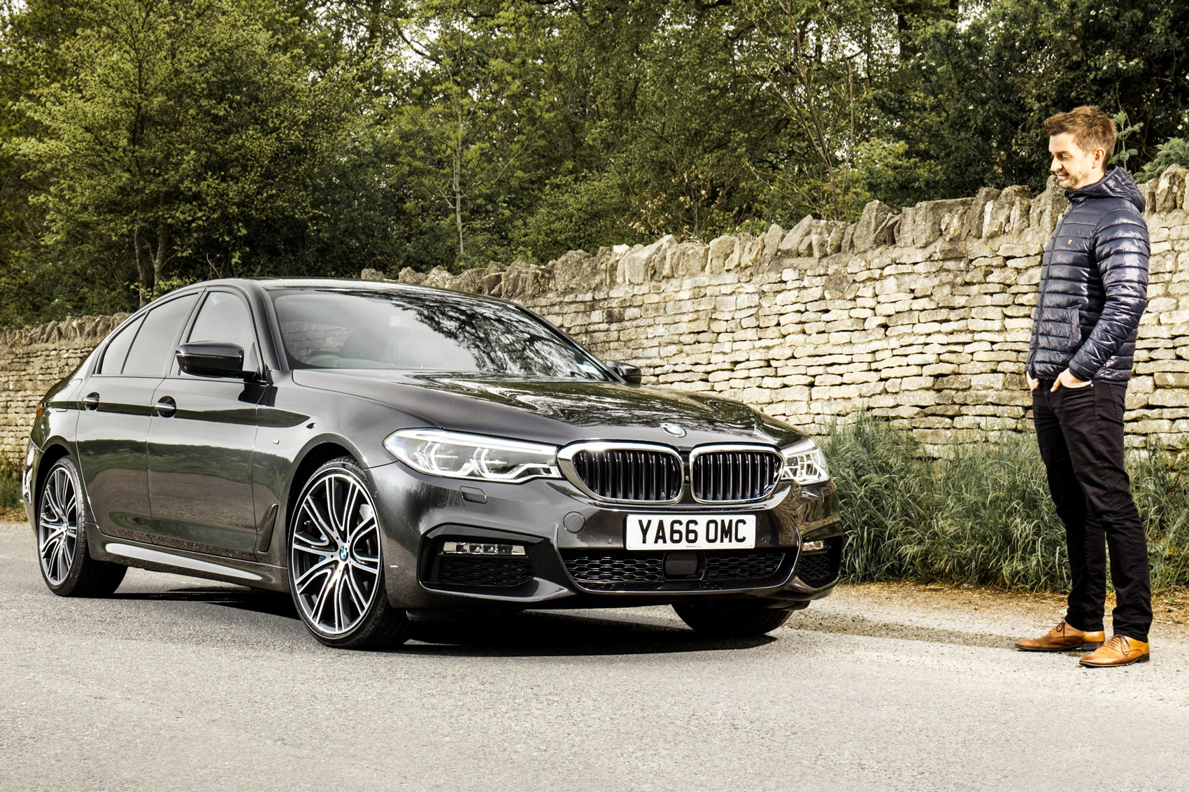 Bmw 530d Xdrive Long Term Review Car Magazine 2006 325i Under The Hood Diagram Tuning A For All Occasions Staff Writer Jake Put 5 Series To Use As Carriage His Sisters Wedding
