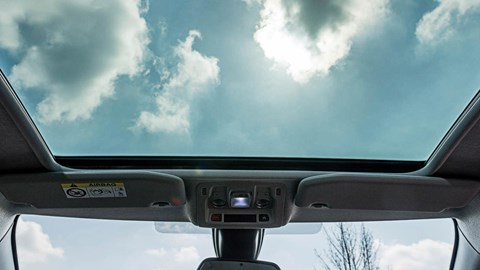 Citroen C3 glass roof