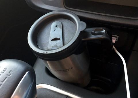 Citroen C3 cupholders
