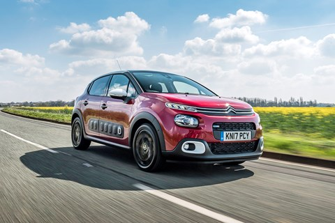 Citroen C3 long-term test front tracking