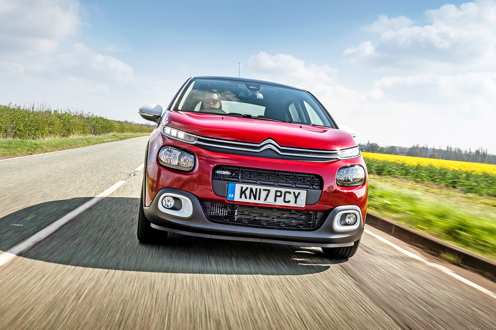 citroen c3 flair 2017 long term test review car magazine. Black Bedroom Furniture Sets. Home Design Ideas