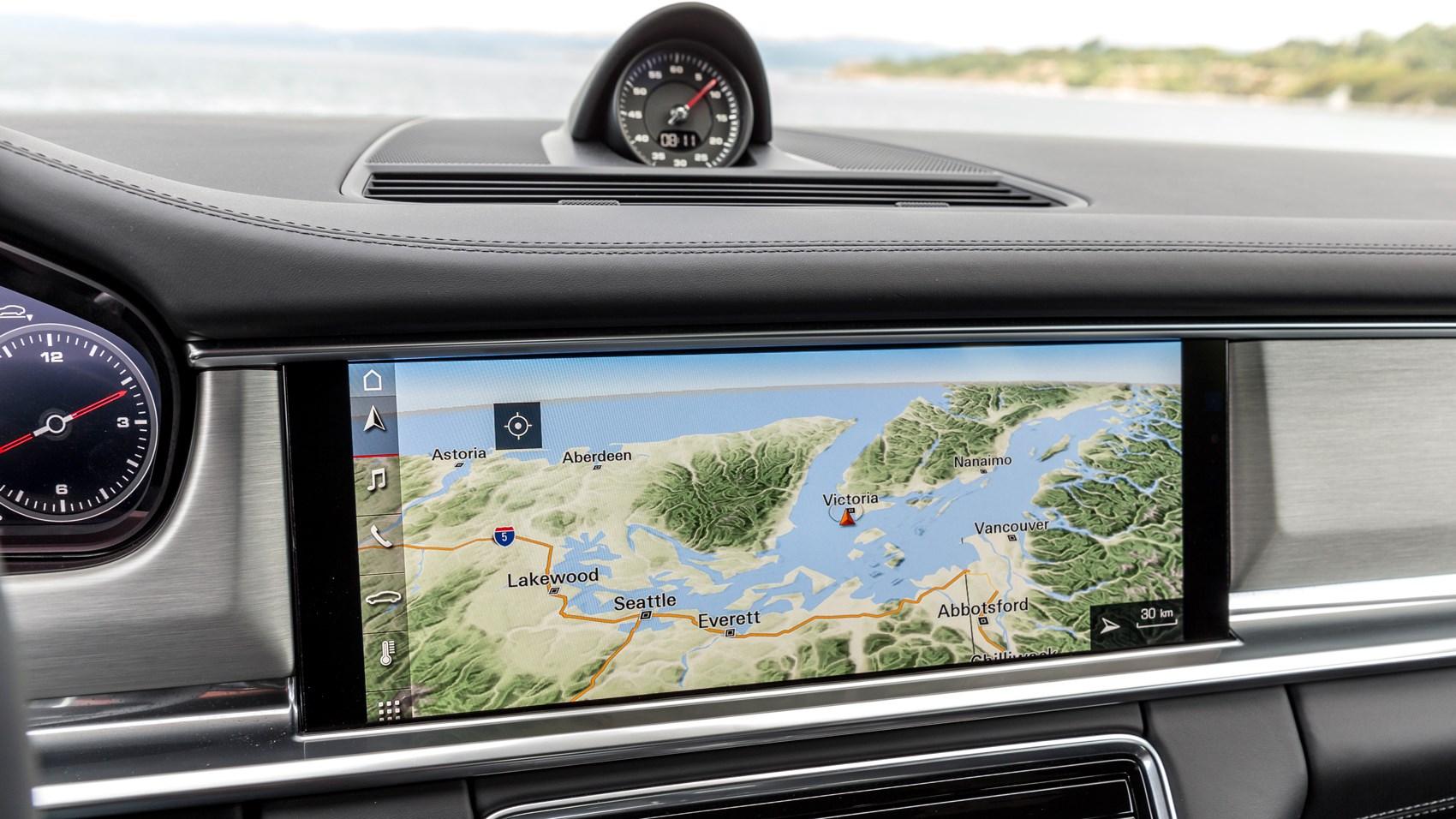 Porsche Panamera ST 4S Diesel infotainment