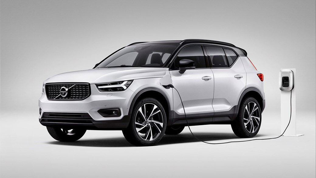 The Volvo XC40 T5 plug-in hybrid: one of the electrified models coming soon