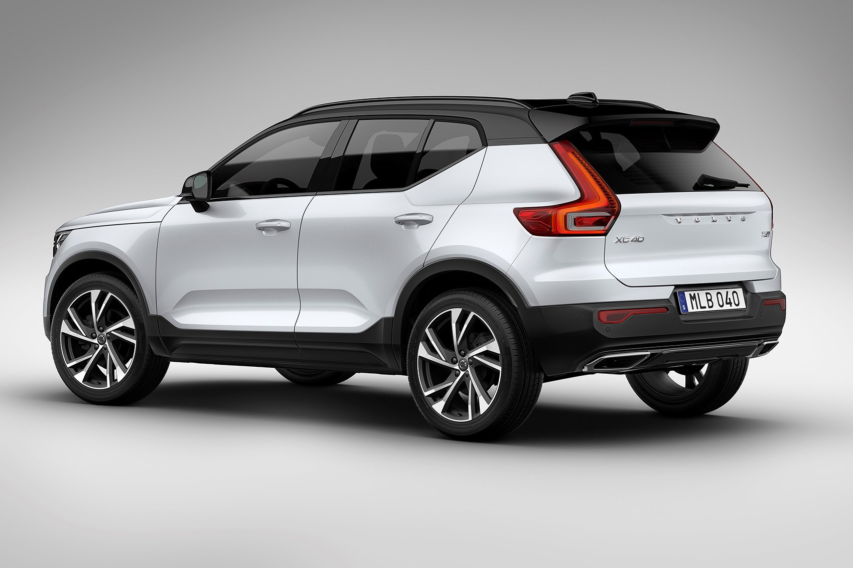 volvo xc40 revealed all new baby crossover is go for 2018. Black Bedroom Furniture Sets. Home Design Ideas
