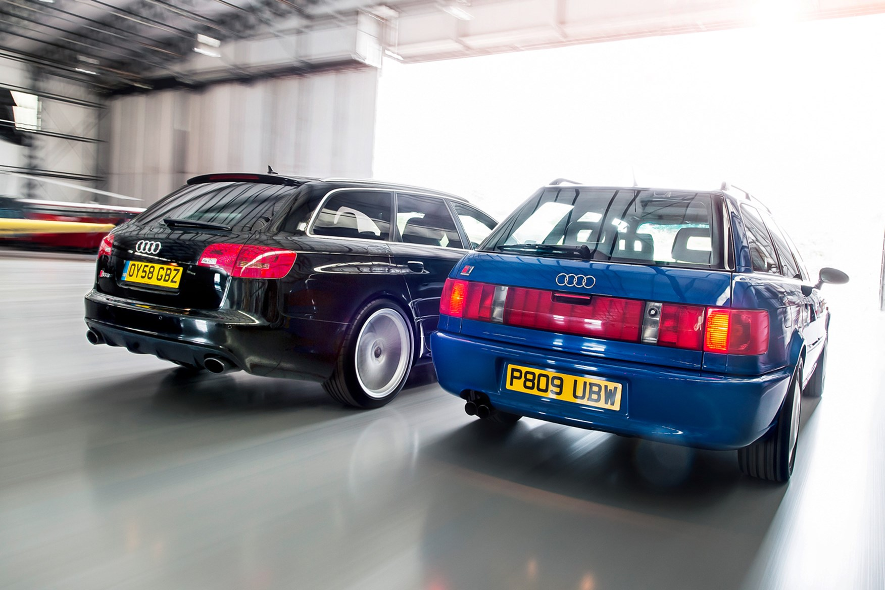 ... Estate Cars To Make Your Head Spin: The 994 RS2, And The 2008 RS6, Both  Family Wagons Turned Brutal Supercars ...